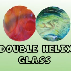 Double Helix Glass