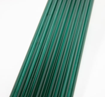 Lake Green Asian Colored Glass Rod