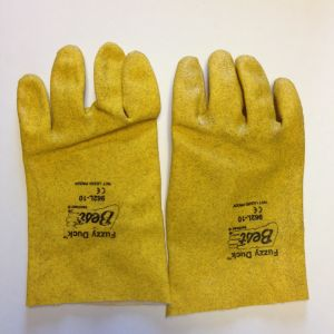 Fuzzy Duck Gloves