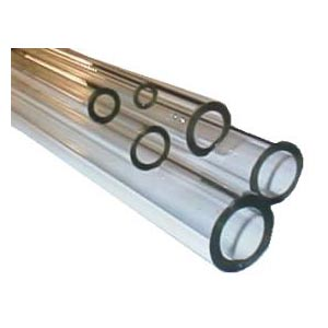 Heavy Wall Corning Pyrex Clear Glass Tubing - 4 ft. lengths