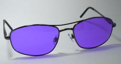 POLY SODIUM FLARE SPECTACLES - METAL SAFETY FRAME