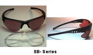 Prescription Ready Lampworking Safety Glasses - Black