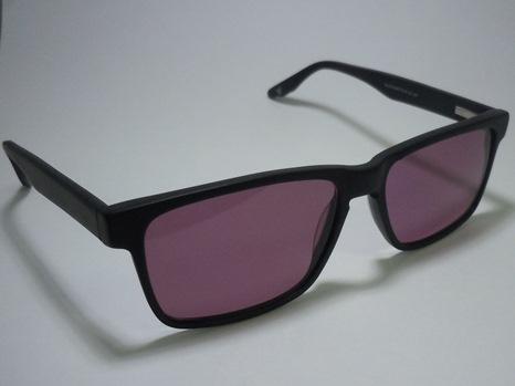 Black Matte 'Geek' Designer Plastic Frame