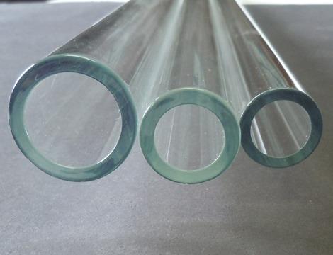 USA Made - Corning Pyrex Borosilicate Clear Art Glass