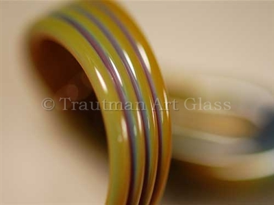 Sasha's Oil Slick Glass Rod (9946)