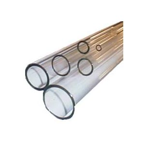 Medium Wall Clear Corning Pyrex Tubing - 5 ft. lengths