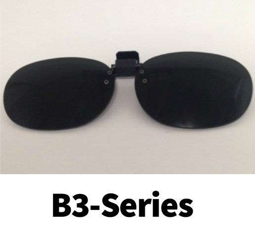 Clip-On Flip-Ups - Standard and Small Size Lenses