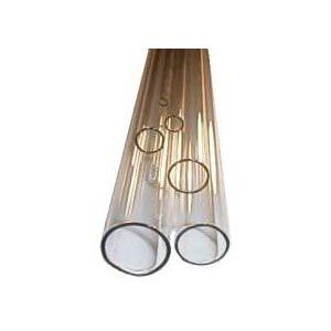 Standard Wall Clear Corning Pyrex Tubing - 5 ft. lengths