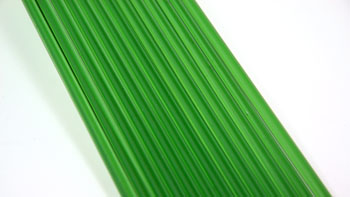 Emerald Green Asian Colored Glass Rod
