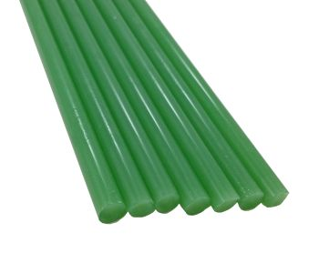 Mint Green Asian Colored Glass Rod