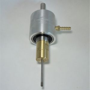 Water feed adapter shown with core drill (not included)