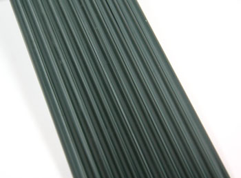 Charcoal Gray Asian Colored Glass Rod
