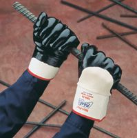 SHOWA Best Gloves - Rough Textured Nitri-Pro Heavy Duty - Summer Weight