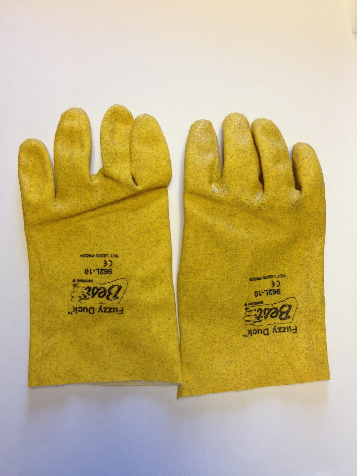 SHOWA Best Gloves Large Fuzzy Duck Heavy Duty