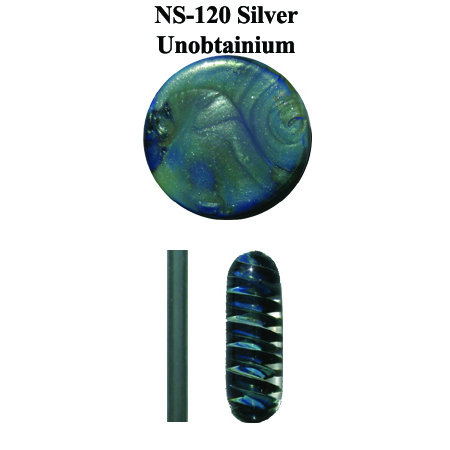 Silver Unobtainium Glass Rod & Glass Frit (NS-120)