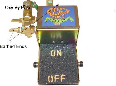 Rock-It 05 Foot Pedal w/ Oxygen Bypass