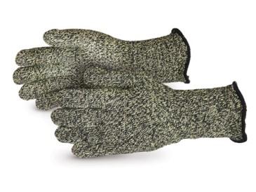 Kevlar/Carbon Fiber Seamless Gloves with Wool Liner - 4