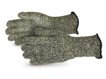 Kevlar/Carbon Fiber Seamless Terry Knit Gloves with Wool Liner - 2.5