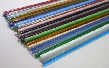 Assortment of Transparents, Pastels, Special Colors & Filigrana - 13 in. Long