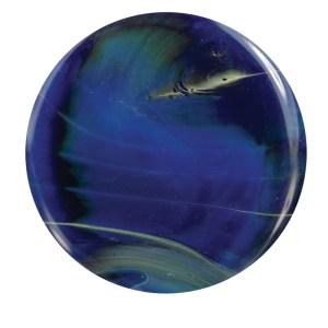 Blue Lightning Glass Rod (MB012)