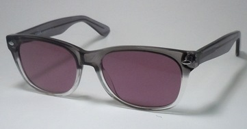 Grey/Clear 'Geek' Designer Frame