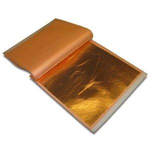 Copper Leaf - 5 1/2 in. Book of 25