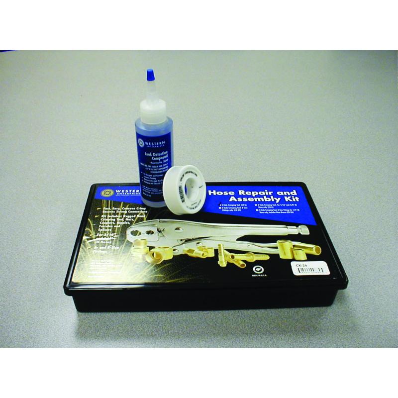 Hose Repair Kit w/ B Fittings for 1/4 in. I.D. Hose