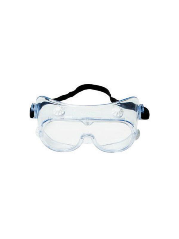 3M Economy 334AF Splash Goggles w/ Clear Frame & Clear Anti-Fog Lens