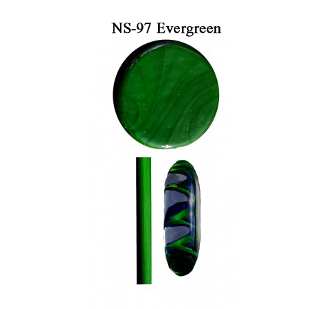 Evergreen Glass Rod & Glass Frit (NS-97)