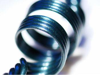Heavy Blue Leprechaun Glass Rod (9930)