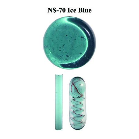 Ice Blue Glass Rod (NS-70)