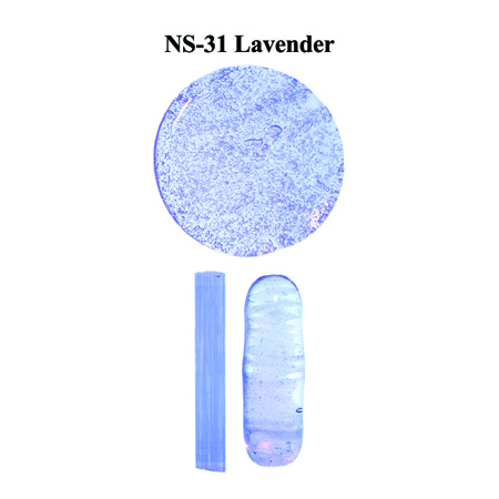 Lavender Glass Rod (NS-31)