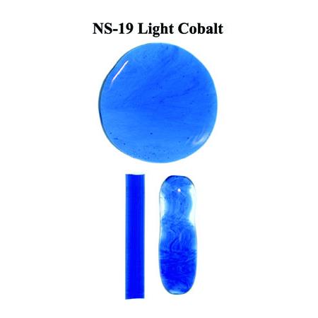 Light Cobalt Blue Glass Rod (NS-19)