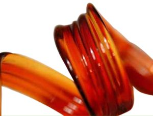 Orange Elvis Glass Rod (9902)
