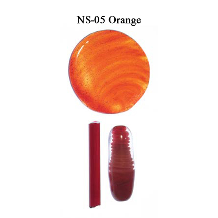 Orange Glass Rod (NS-05)