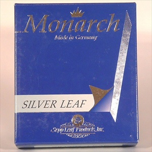 Pure Silver Leaf - 3 3/4 in. Book of 25