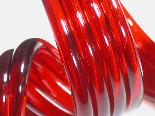 Red Elvis Glass Rod (9900)