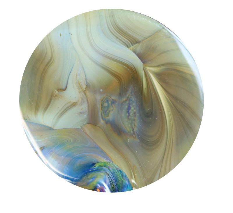 Silver Tears Glass Rod (MB073)