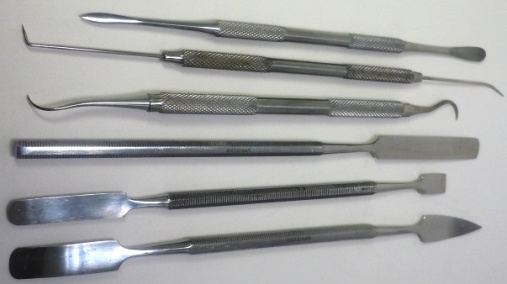 Stainless Shaping Tools - Set of 6