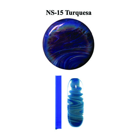 Turquesa Glass Rod (NS-15) (OUT OF STOCK)