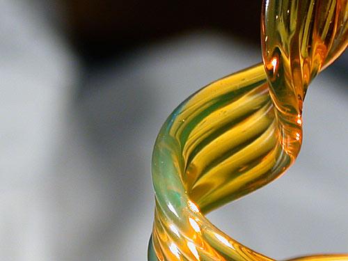 Yellow Elvis Glass Rod (9904)