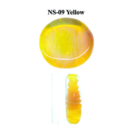 Yellow Glass Rod & Glass Frit (NS-09)