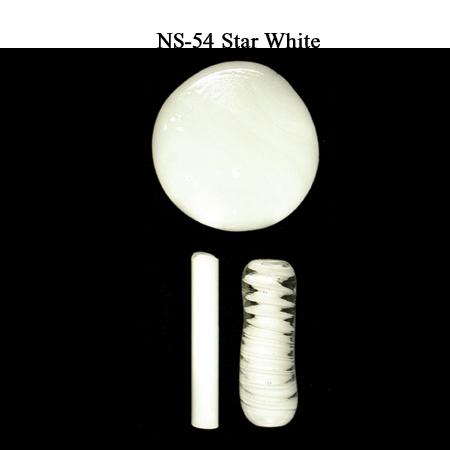Star White Glass Rod & Glass Frit (NS-54)