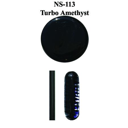 Turbo Amethyst Glass Rod & Glass Frit (NS-113)