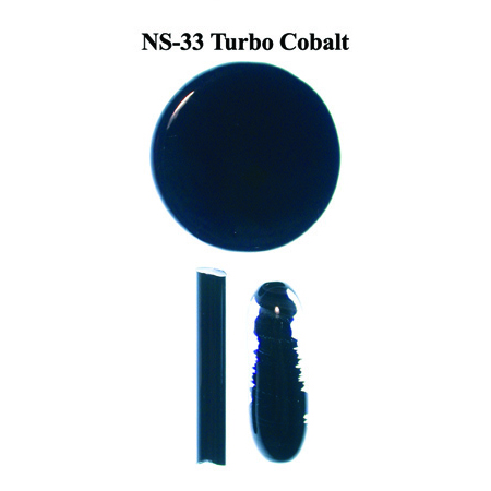 Turbo Cobalt Glass Rod & Glass Frit (NS-33)