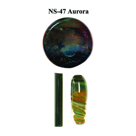 Aurora Glass Rod & Glass Frit (NS-47)