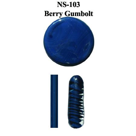 Berry Gumbolt Glass Rod & Glass Frit (NS-103)