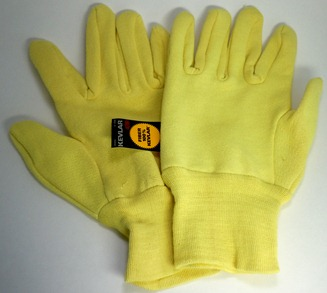 Kevlar/Jersey Seamless Glass Fiber Gloves
