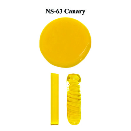Canary Glass Rod & Glass Frit (NS-63)