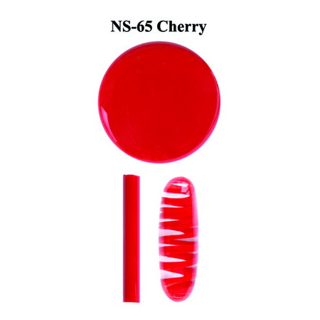Cherry Glass Rod & Glass Frit (NS-65)